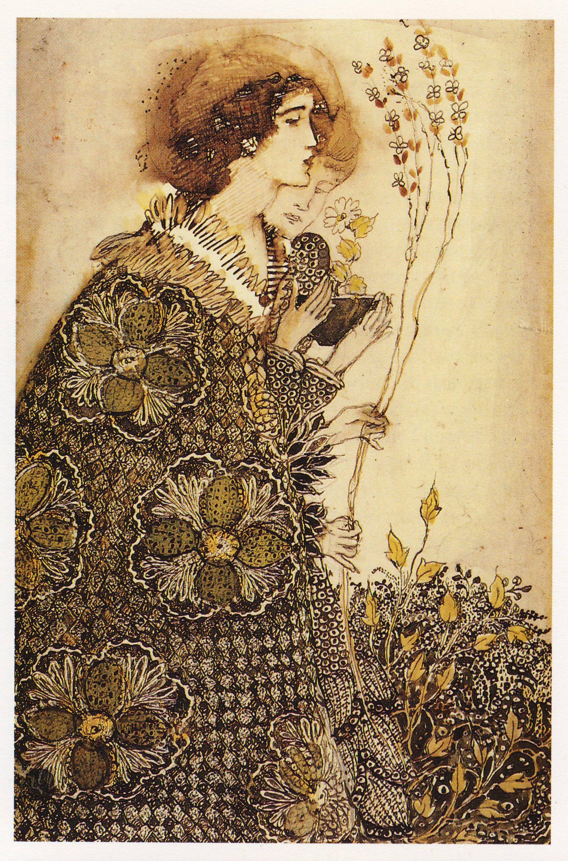 Annie French (1872-1965). Woman and boy. [Glasgow School of Art ...