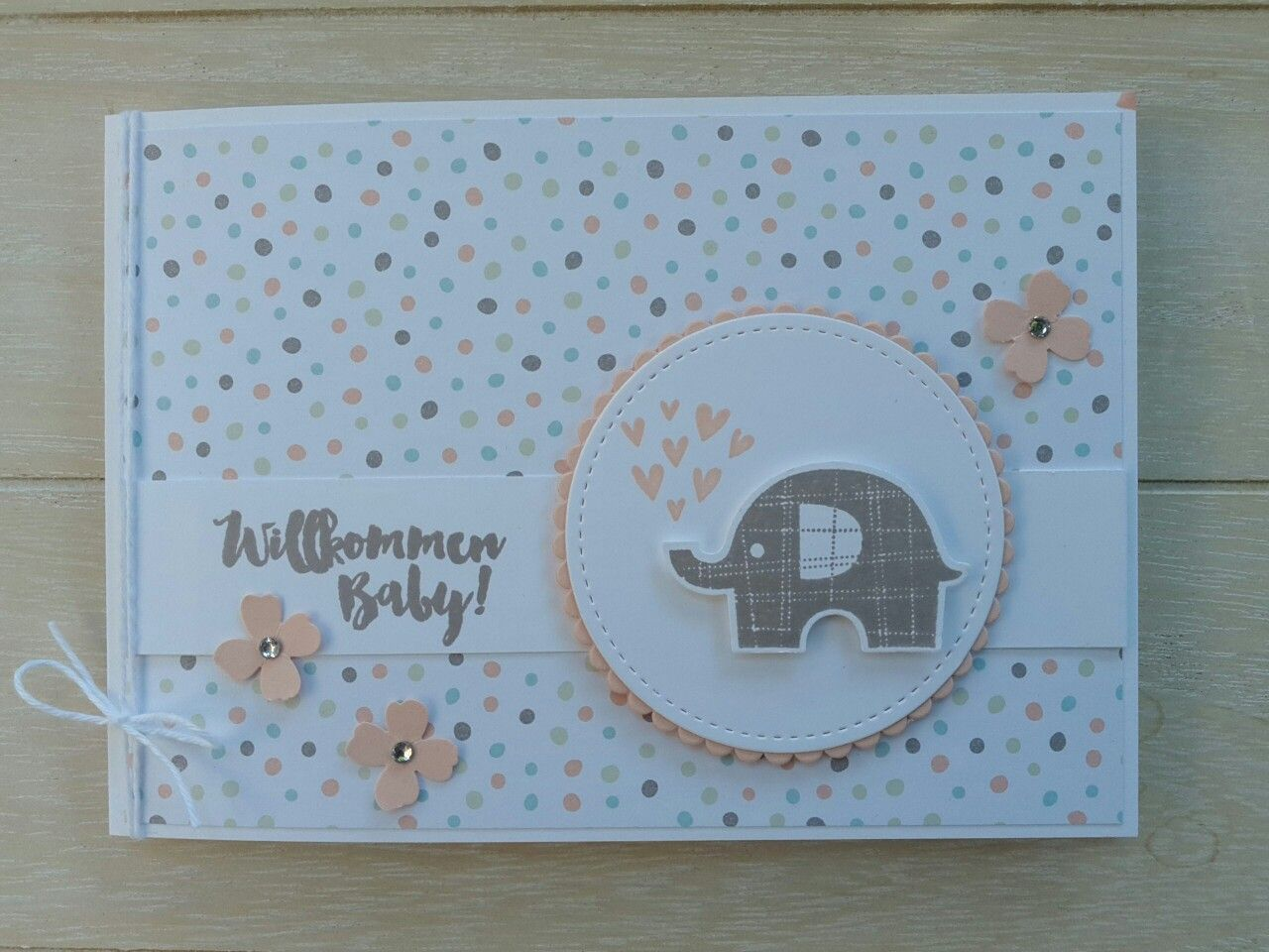 Grußkarte Willkommen Baby Willkommen Baby Karten