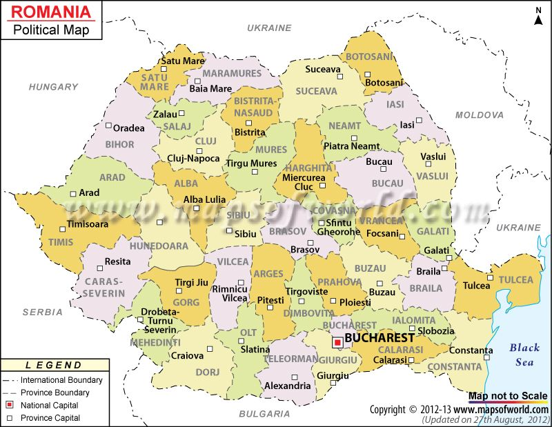 Political map of romania homeschool curriculum pinterest political map of romania illustrates the surrounding countries with international borders 41 counties boundaries with their capitals and the national gumiabroncs Image collections