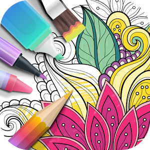 R Colorfit Garden Is An Excellent Coloring Application Imitating Real Coloring Experiencewith Rich Gardens Coloring Book Coloring Books Photo Collage Maker