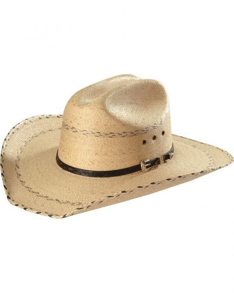 Kenny Chesney Palm Straw Cowboy Hat  11666562f6b