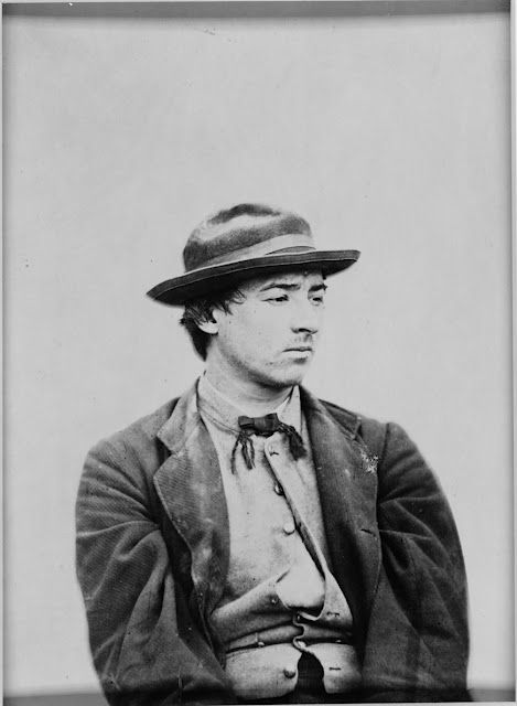 David Herold, convicted co-conspirator in the Lincoln ...