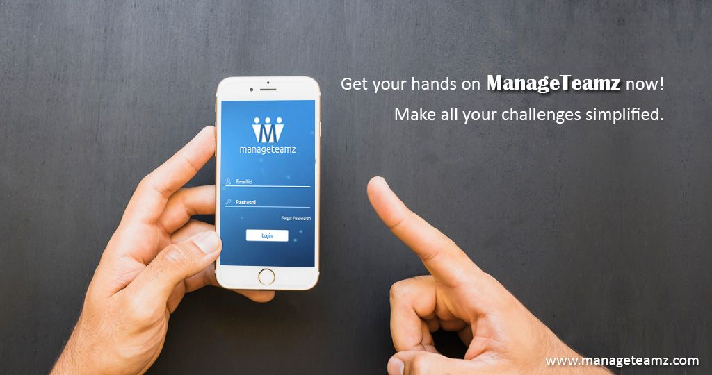 Get your hands on ManageTeamz now! and make all your