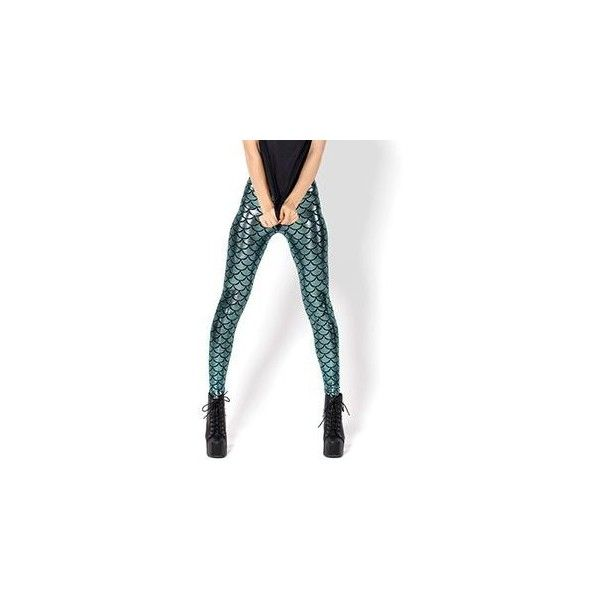 Scale-Print Leggings  As Figure Shown ($14) ❤ liked on Polyvore featuring pants, leggings, women, patterned leggings, patterned pants, print trousers, print leggings and white pants