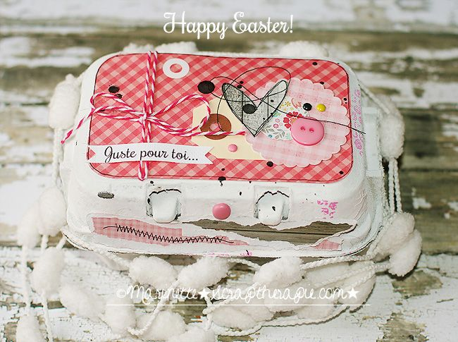 ★Scraptherapie★: {Juste pour toi-Happy Easter}