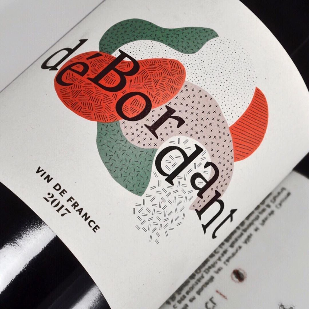 Emerging Graphic Designers On Instagram This Illustration For A Wine Label From Mo Wine Label Design Wine Bottle Label Design Wine Label Illustration