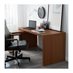 IKEA   MALM, Desk With Pull Out Panel, White, , The Pull Out Panel Gives  You An Extra Work Surface.You Can Collect Cables And Extension Cords On The  Shelf ...