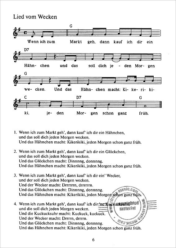 Pin von yvonne auf Musik | Songs, Kindergarten und Sheet Music