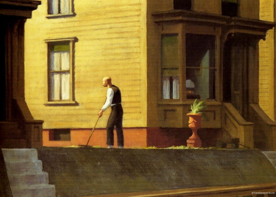 Ciudad de carbón de Pensylvania (1947) Edward Hopper