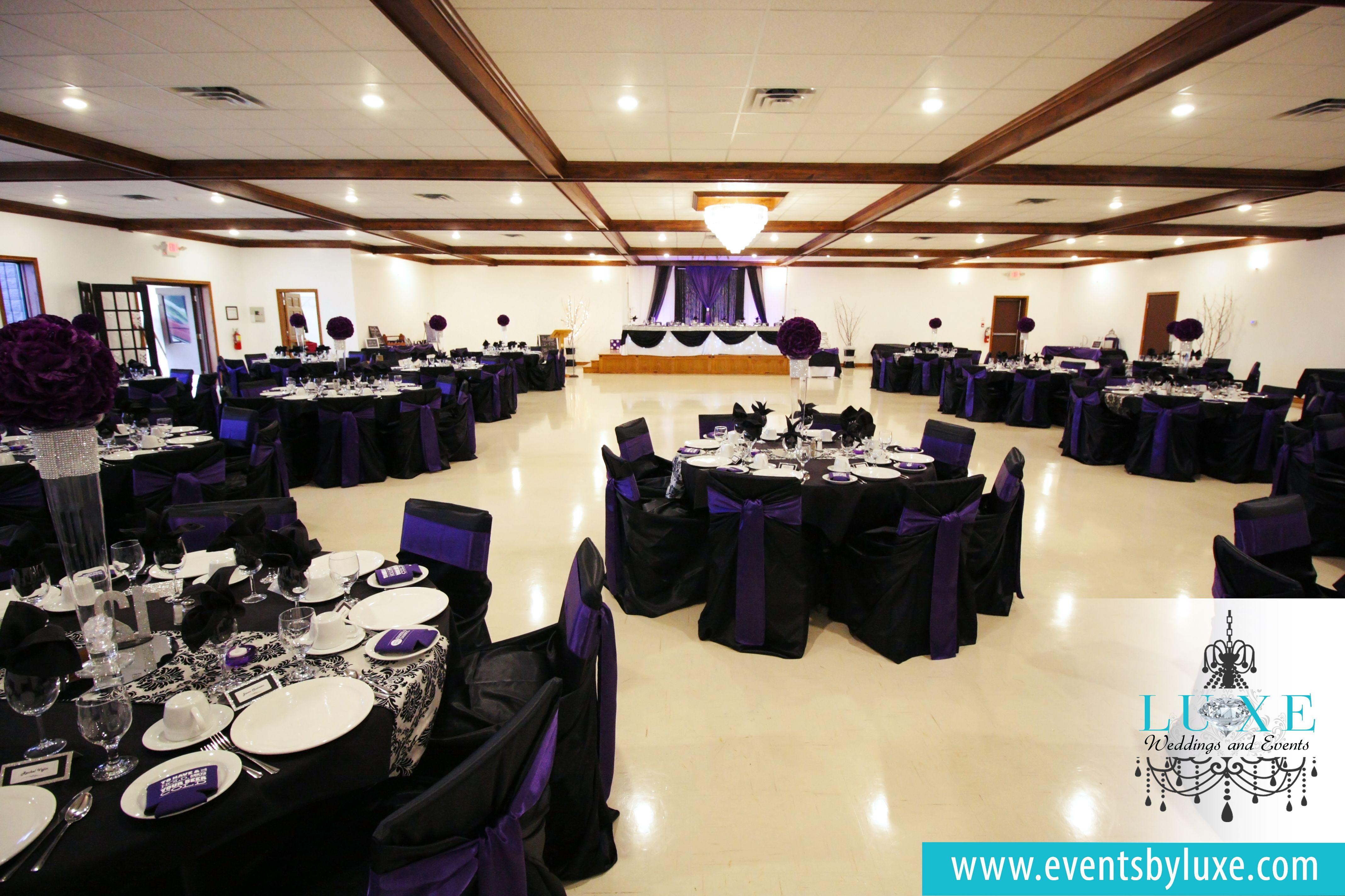Purple Black And White Damask Wedding Decor Damask Wedding Decor