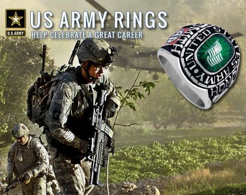 Celebrate A Great Career In The Us Army With Personalized Custom Military Rings Us Military Goarmy Usmilitary Http Us Marine Corps Army Rings Us Army