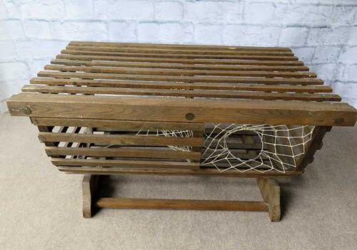 Amazing Vintage Wooden Lobster Trap Coffee Table From Maine Andrewgaddart Wooden Chair Designs For Living Room Andrewgaddartcom