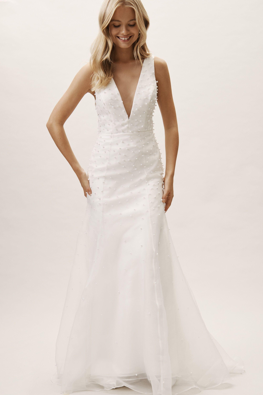 7f0f3e0e7751f BHLDN's Jenny by Jenny Yoo Maynard Gown in Ivory in 2019 | Wedding ...