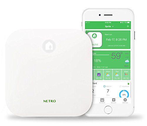 Netro Smart 12zone Wifi Sprinkler Controller Weather Aware Remote Control Works With Amazon Alexa Want To Know Sprinkler Controller Sprinkler Best Sprinkler