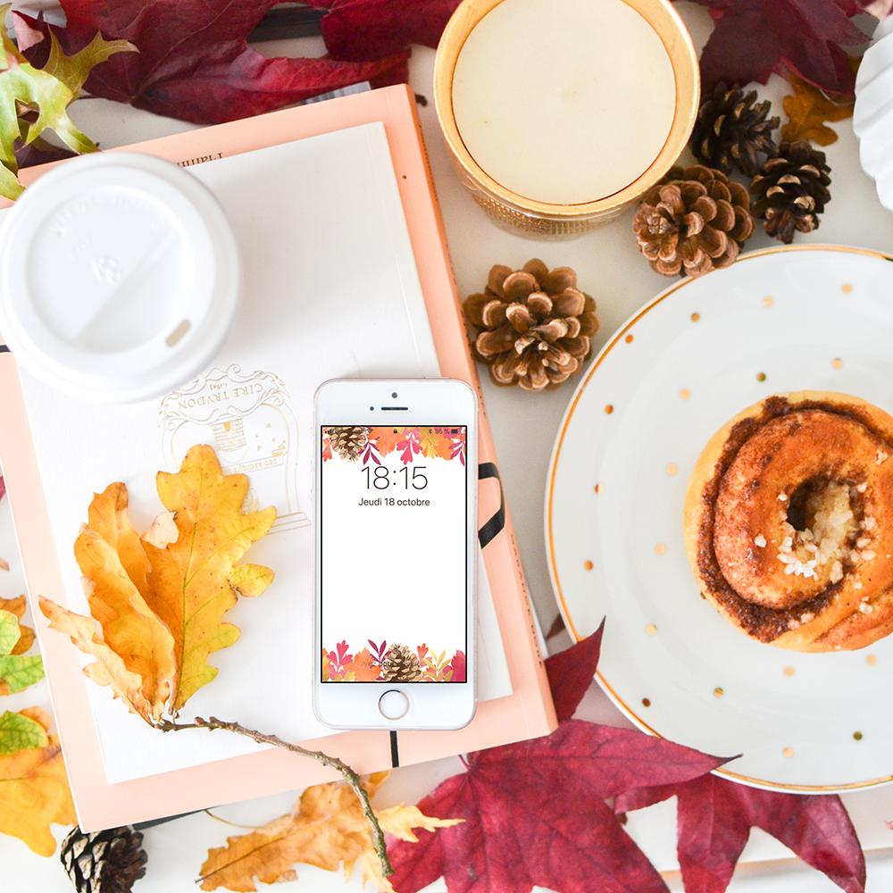 foto de Fond d'écran : feuilles d'automne (avec images) | Feuille automne ...