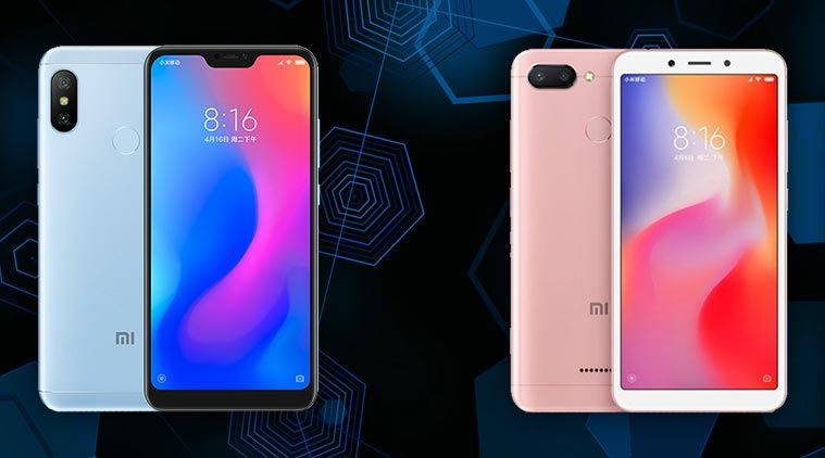 Xiaomi Redmi 6 Vs Redmi 6 Pro Xiaomi Samsung Galaxy Phone Iphone