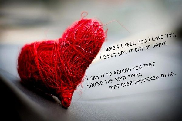 More Sweet and Cute Valentines Day Quotes: