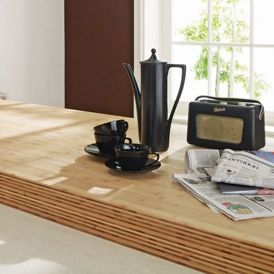 Plywood Kitchen Worktop Double/triple Thickness Edge