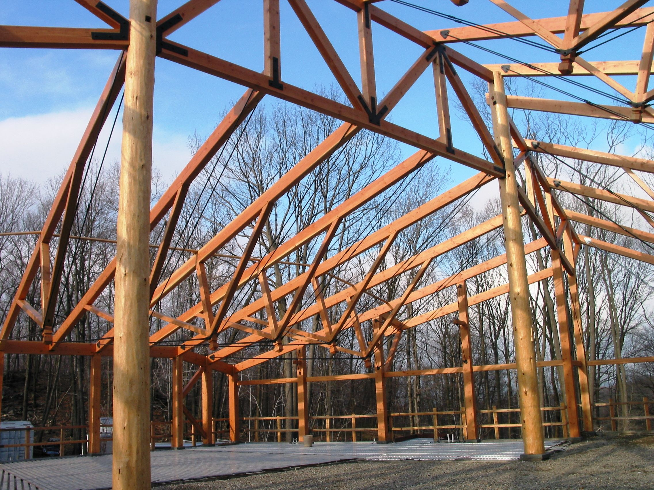 The Post and Beam   Hand Crafted Timber Frames by Vermont Timber ...