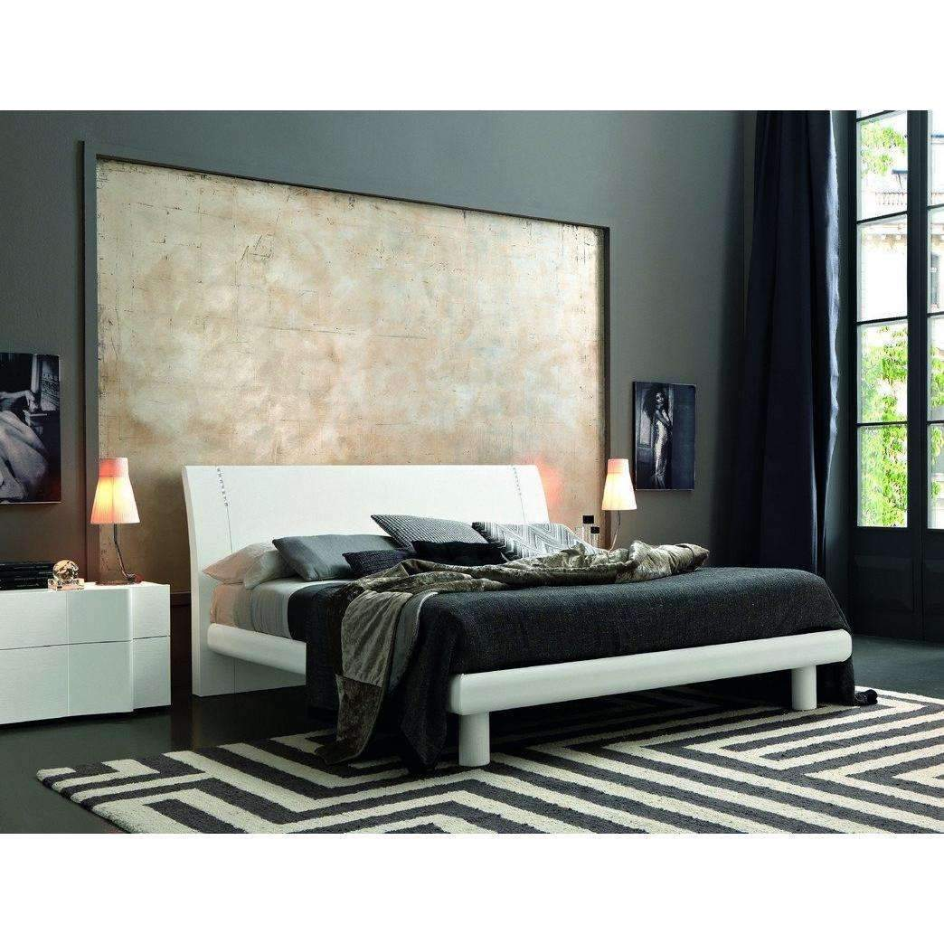 SMA Armonia Wood- Modern Bed In Wood with Swarovski Crystals ...