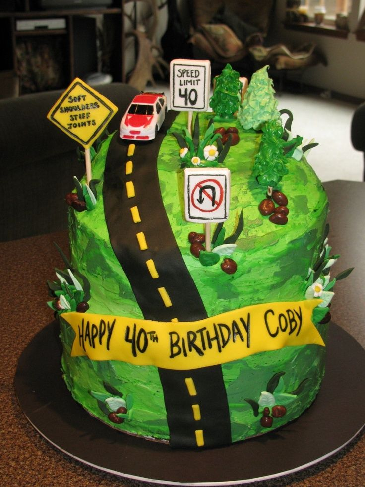 Over The Hill Cake Decorating Ideas Google Search