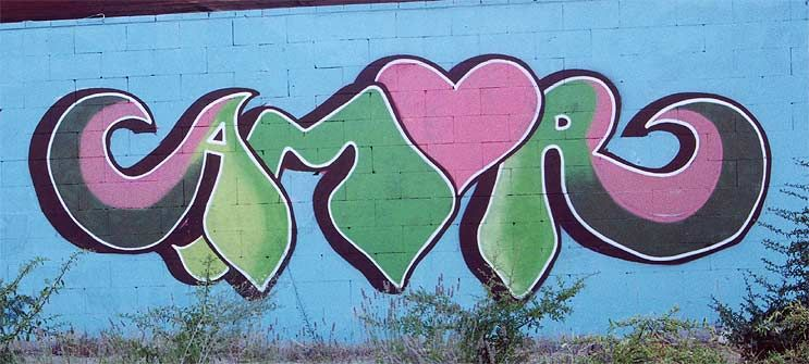 Pin de Maria Beamonte en graffitis  Pinterest  Graffitis de amor