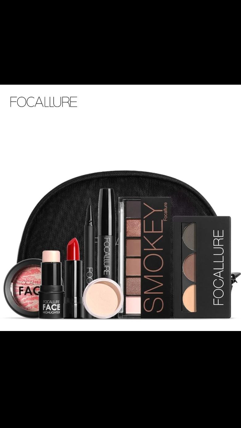 Makeup set eyeliner,Mascara, Eyeshadow, Eyebrow Cosmetics bag