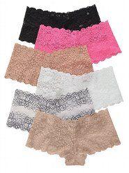 37b2d7f32c Women s Boyshorts Underwear  Sexy Boyshort Panties in Lace   Cotton at Victoria s  Secret.... 3 boyshort panties