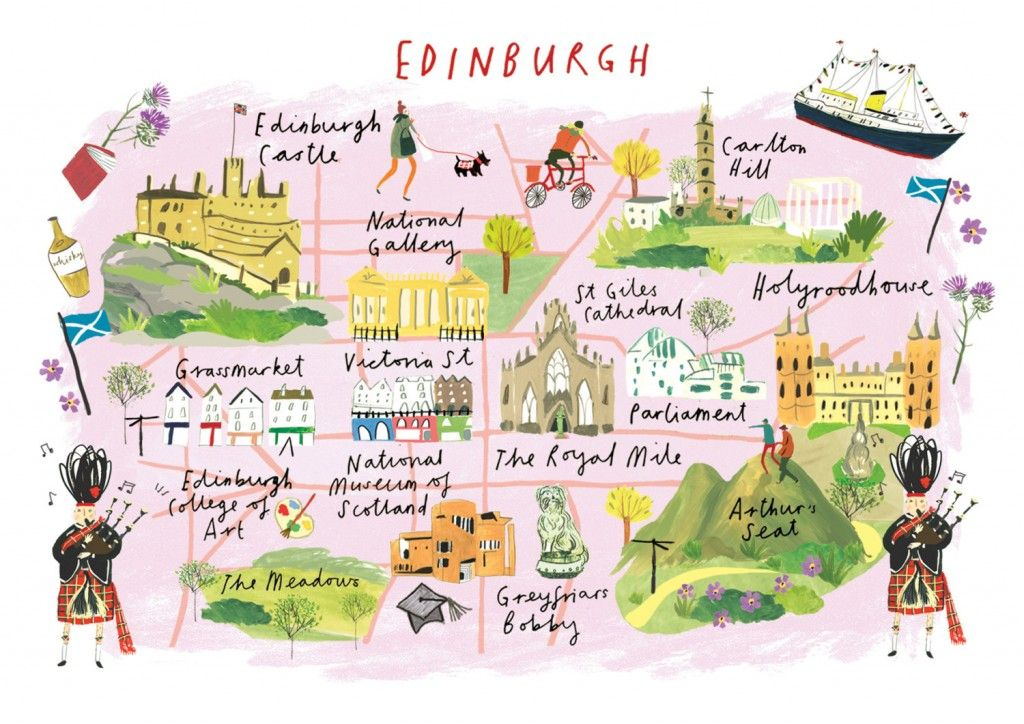 What is your favorite European city   Travel illustration ...