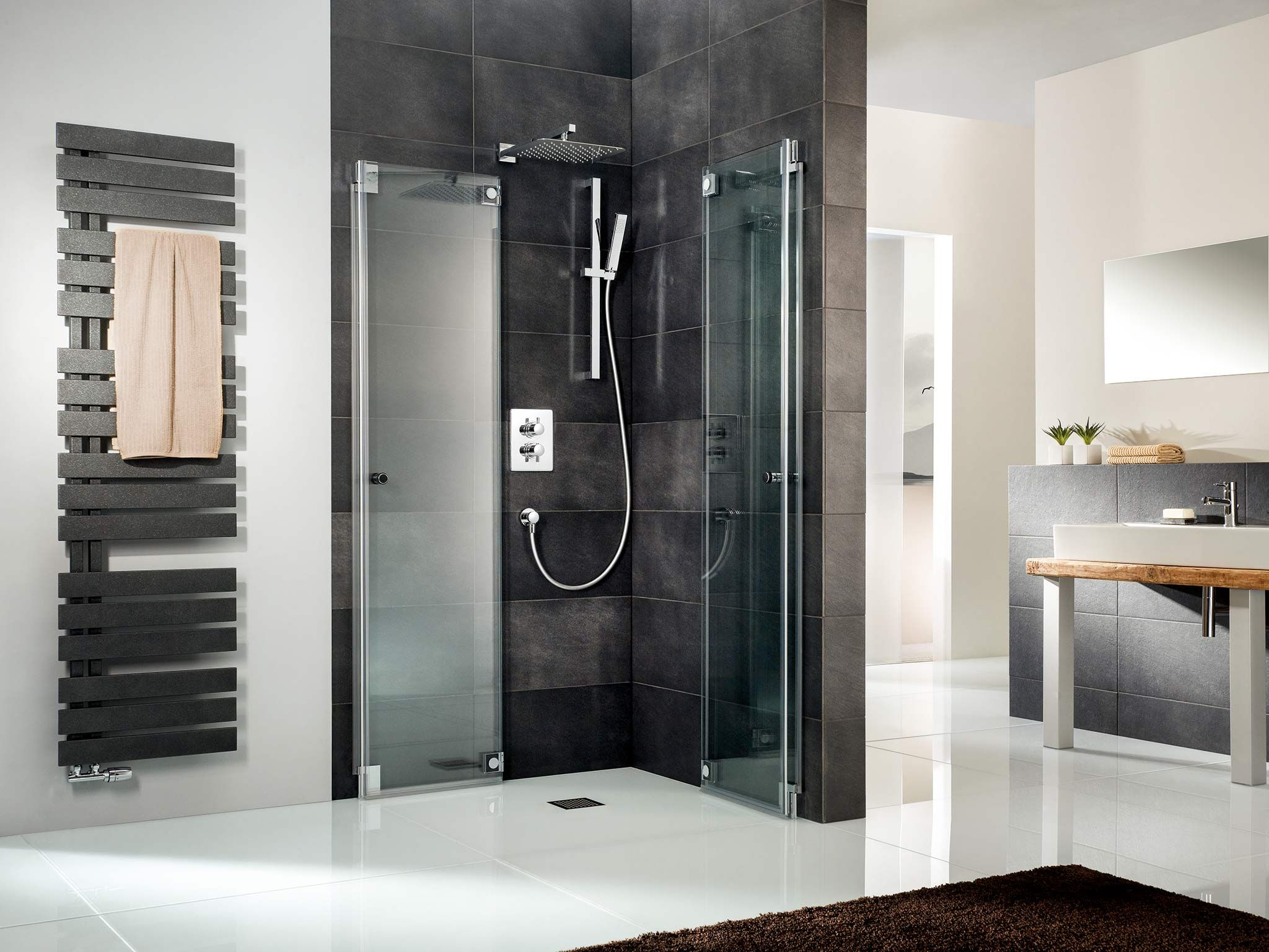Duschkabine Glas HSK kreiert edle Duschen aus Echtglas