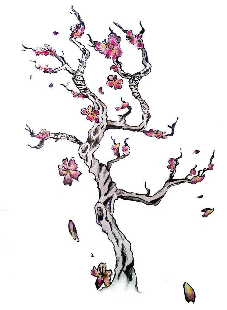 Cherry Blossom Tree Tattoo Design 3 Cherry Blossom Tree Tattoo Blossom Tree Tattoo Tree Tattoo Designs