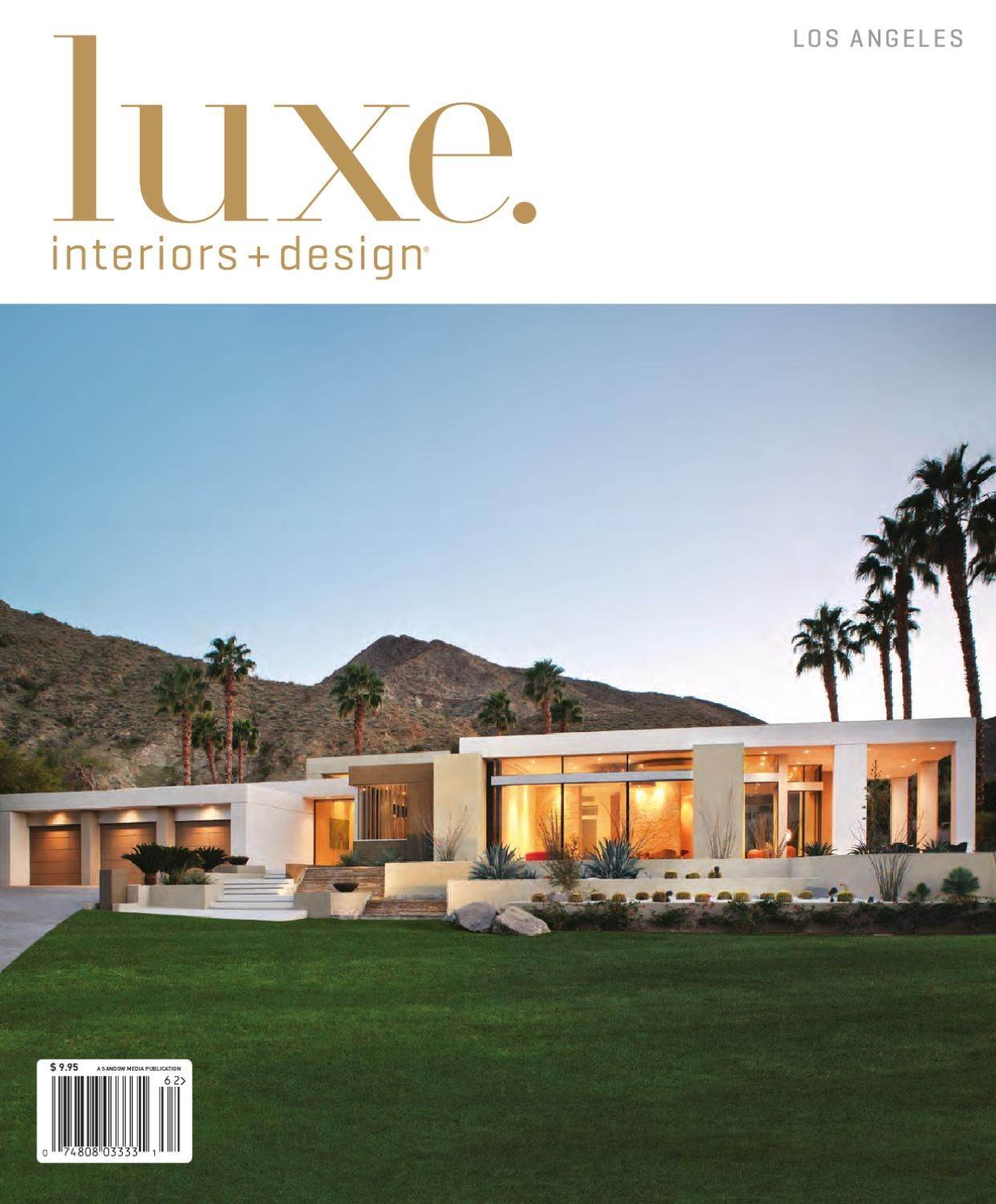 LUXE Interior Design Los Angeles
