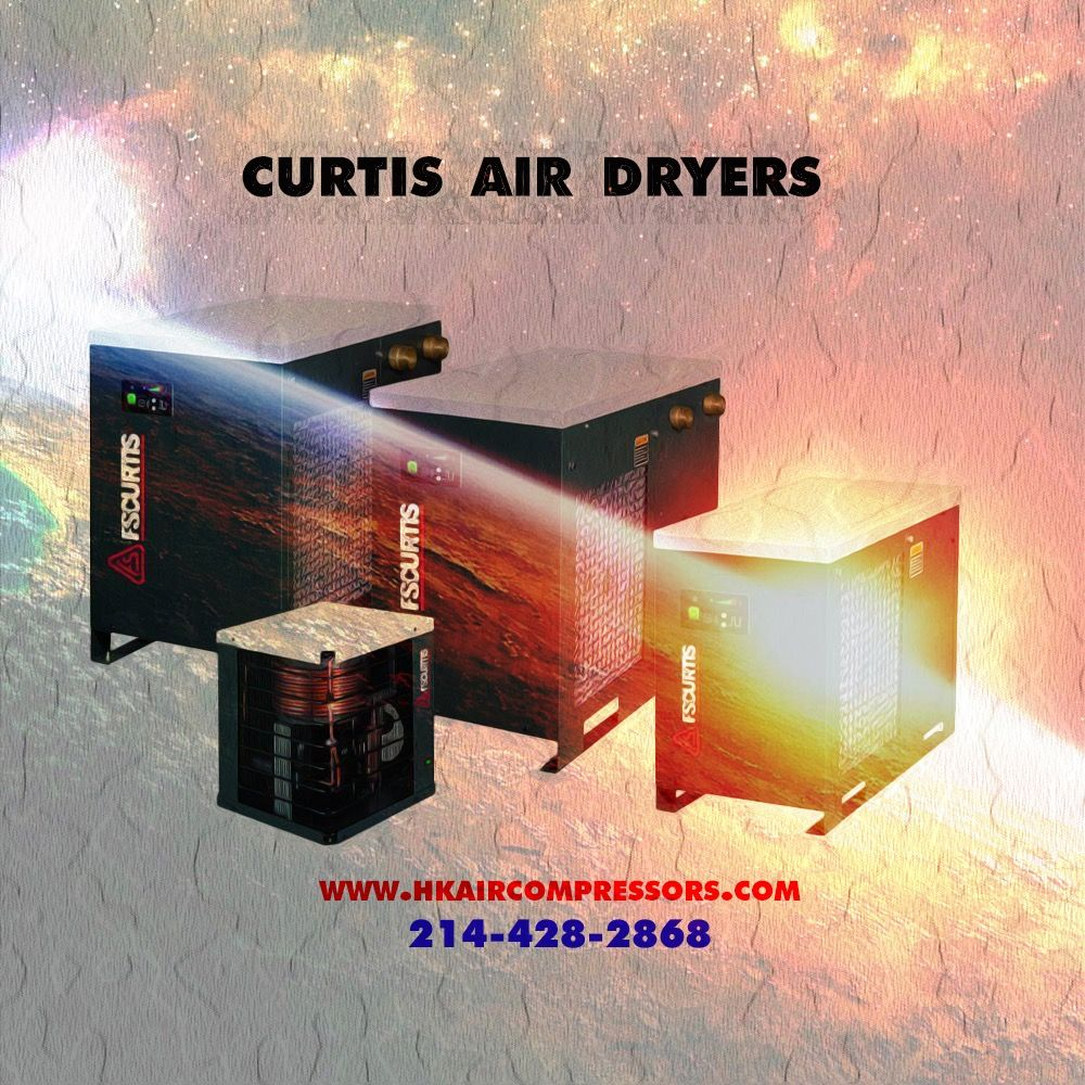Air compressor dryers from FSCURTIS.