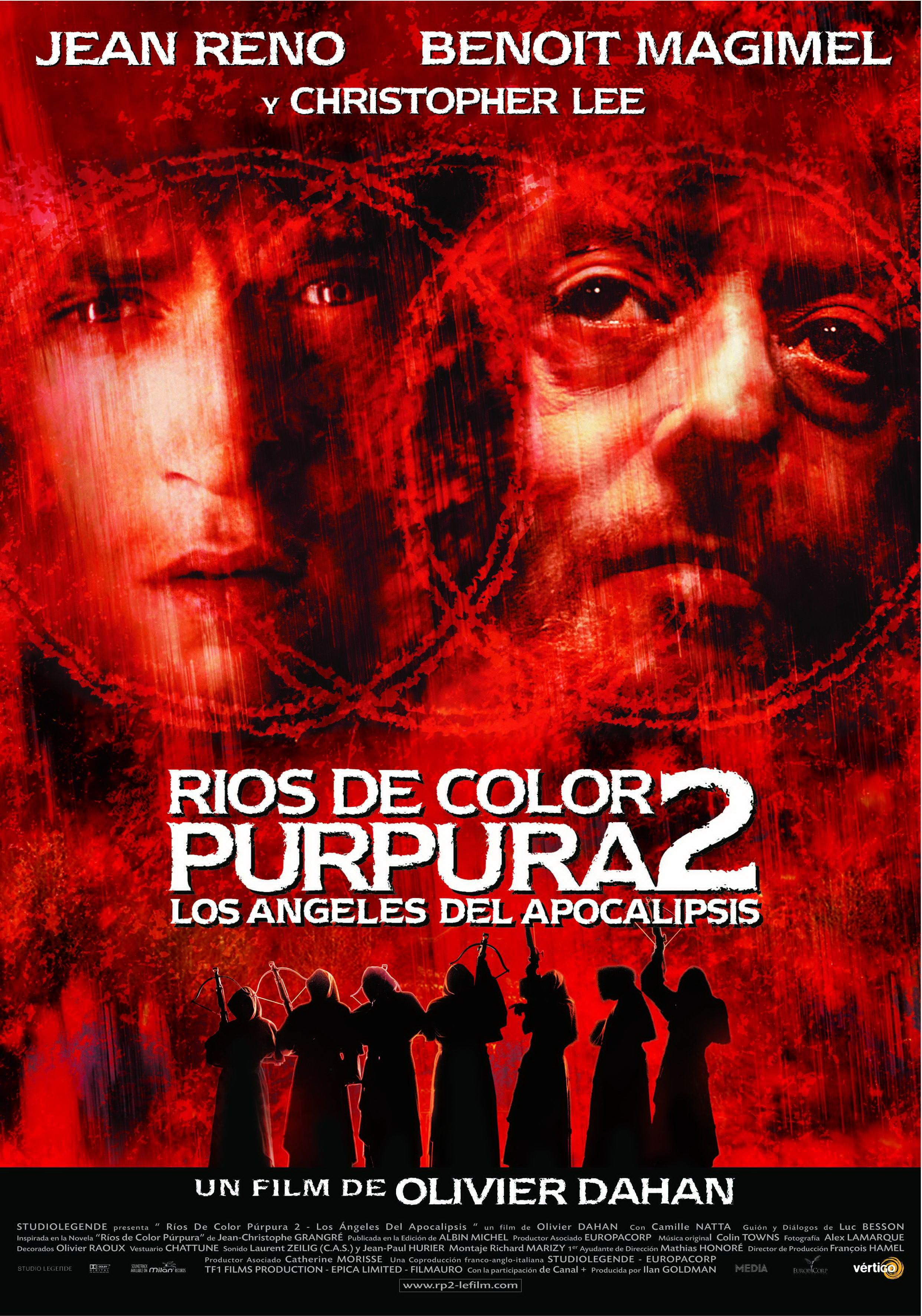 Ríos de color púrpura 2. Los ángeles del Apocalípsis - Rivières pourpres II - Les anges de l'apocalypse