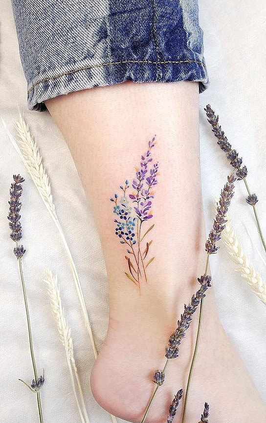 Photo of 37 Lovely Flower Tattoo Suitable For Women – HomeLoveIn