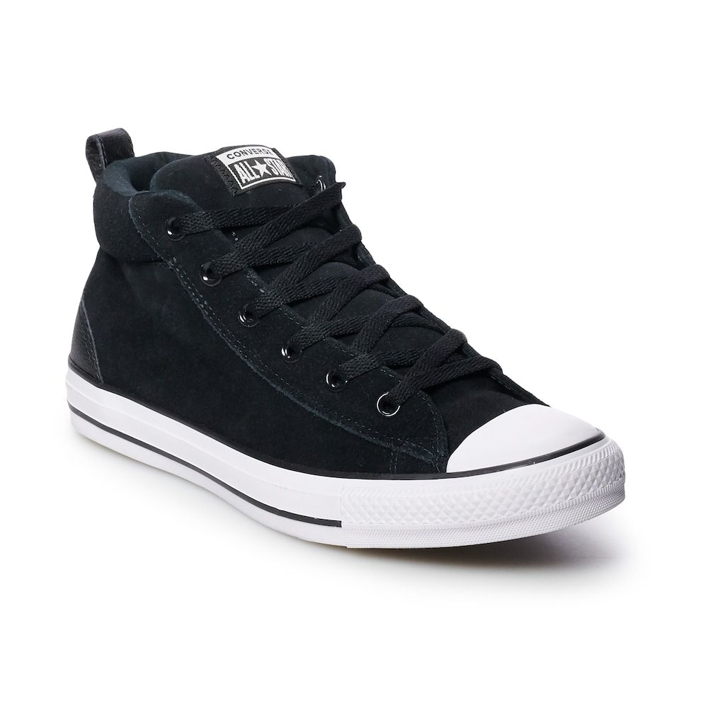 a48318d03ff Men s Converse Chuck Taylor All Star Street Mid Suede Sneakers ...