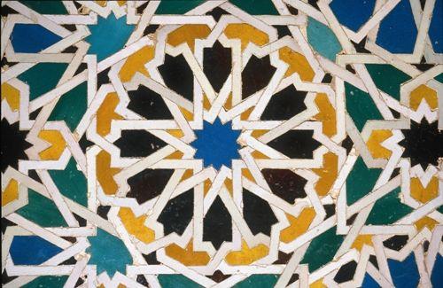 Grenade: Alhambra – mosaïque