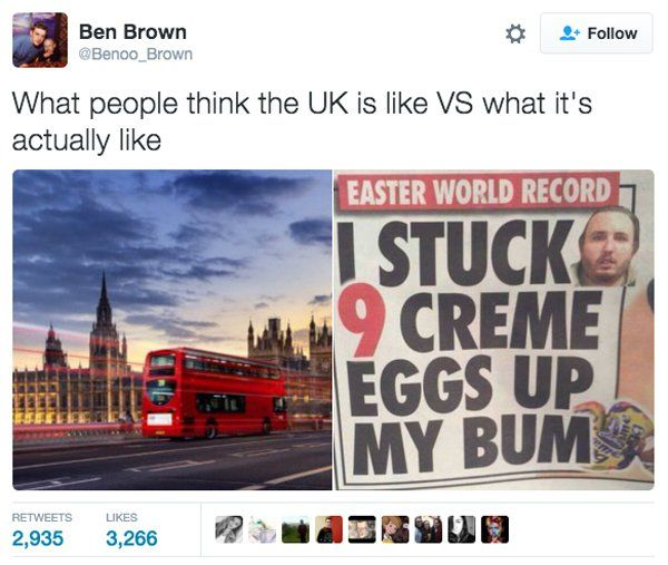 The UK can be a funny place