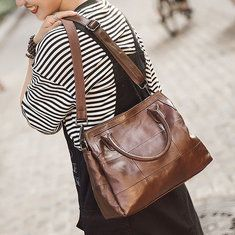 84f7815cef0b Hot-sale designer Genuine Leather Vintage Bucket Bag Handbag Shoulder Bag  Crossbody Bag Online - NewChic Mobile
