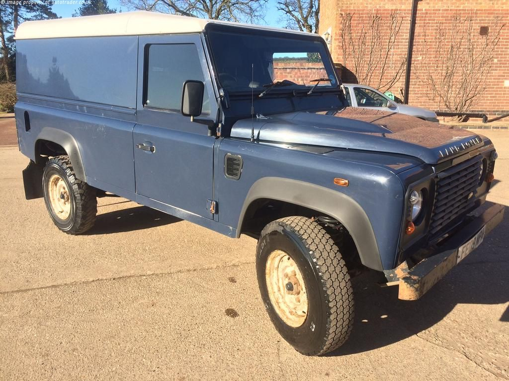 LAND ROVER DEFENDER 110 2.4 Tdi Hard Top 3dr SUV for sale in ...