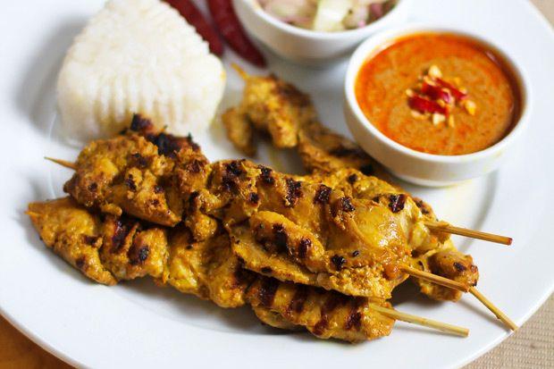 Malaysian Chicken Satay With Peanut Sauce Sushi Bytes Essays