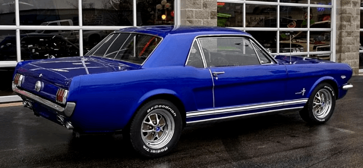 Super Clean 1966 Ford Mustang 289 4bbl Custom Mustang Blue Mustang 1966 Ford Mustang