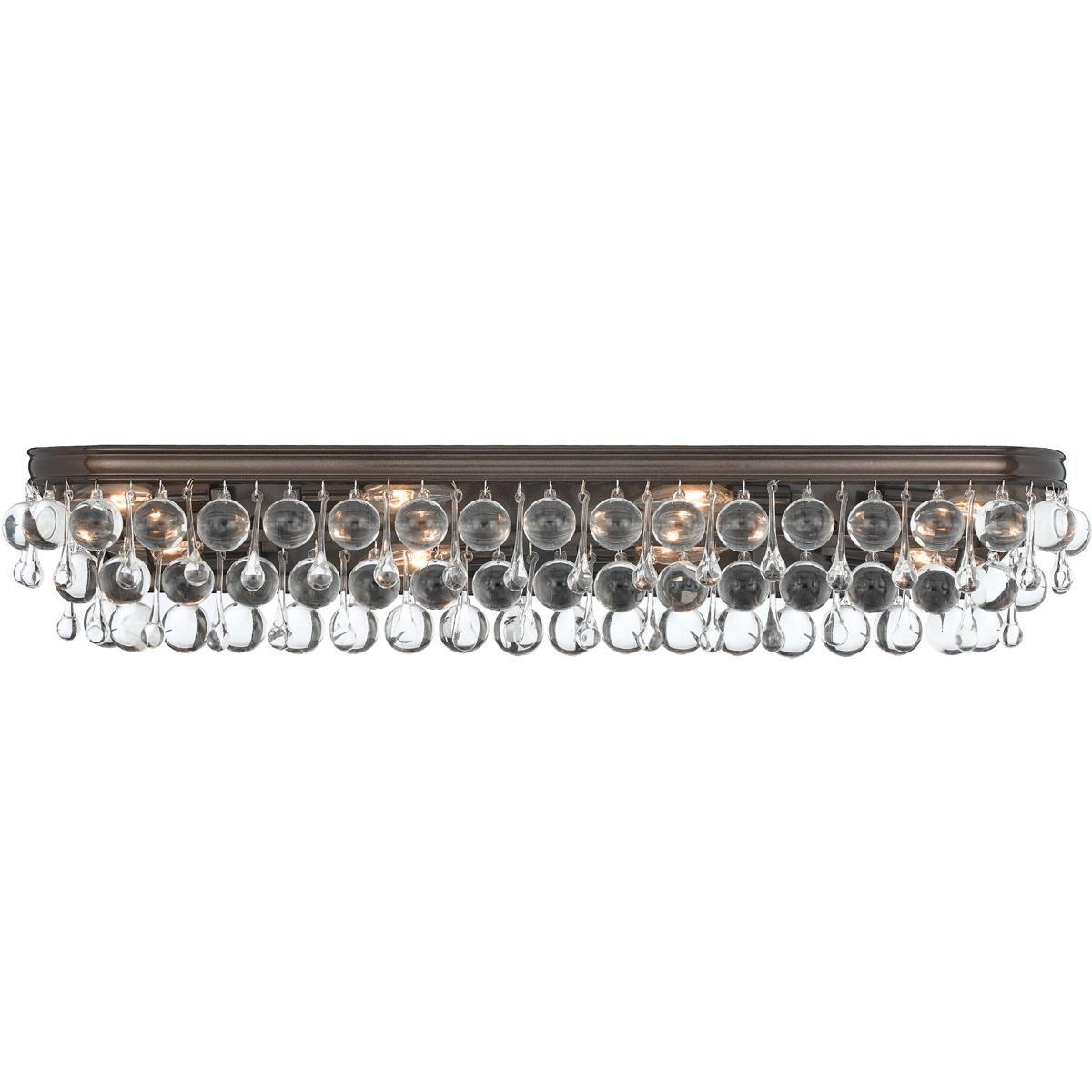 Crystal Ball Bath Light - 8 light | Crystal ball, Bath light and Bath