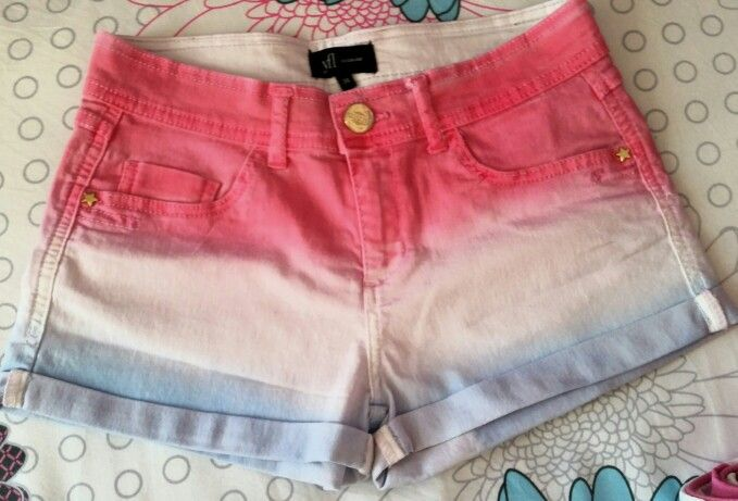Ombre shorts ♡