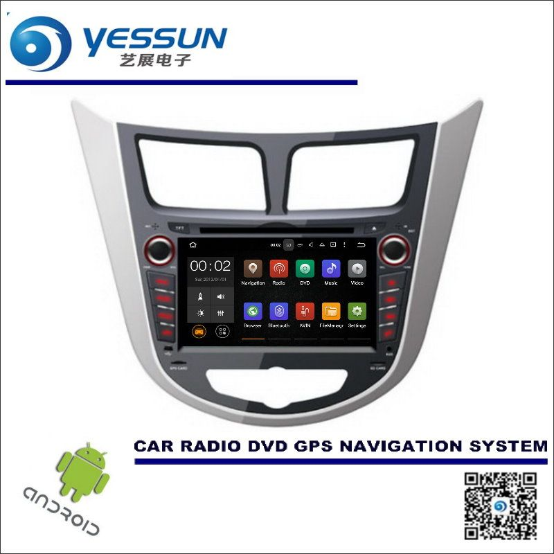 Wince / Android Car Multimedia Navigation For Hyundai Accent