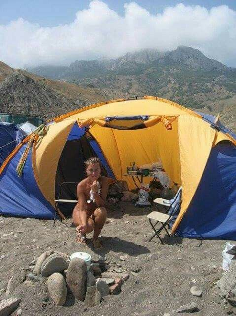 Adults only camping sexy