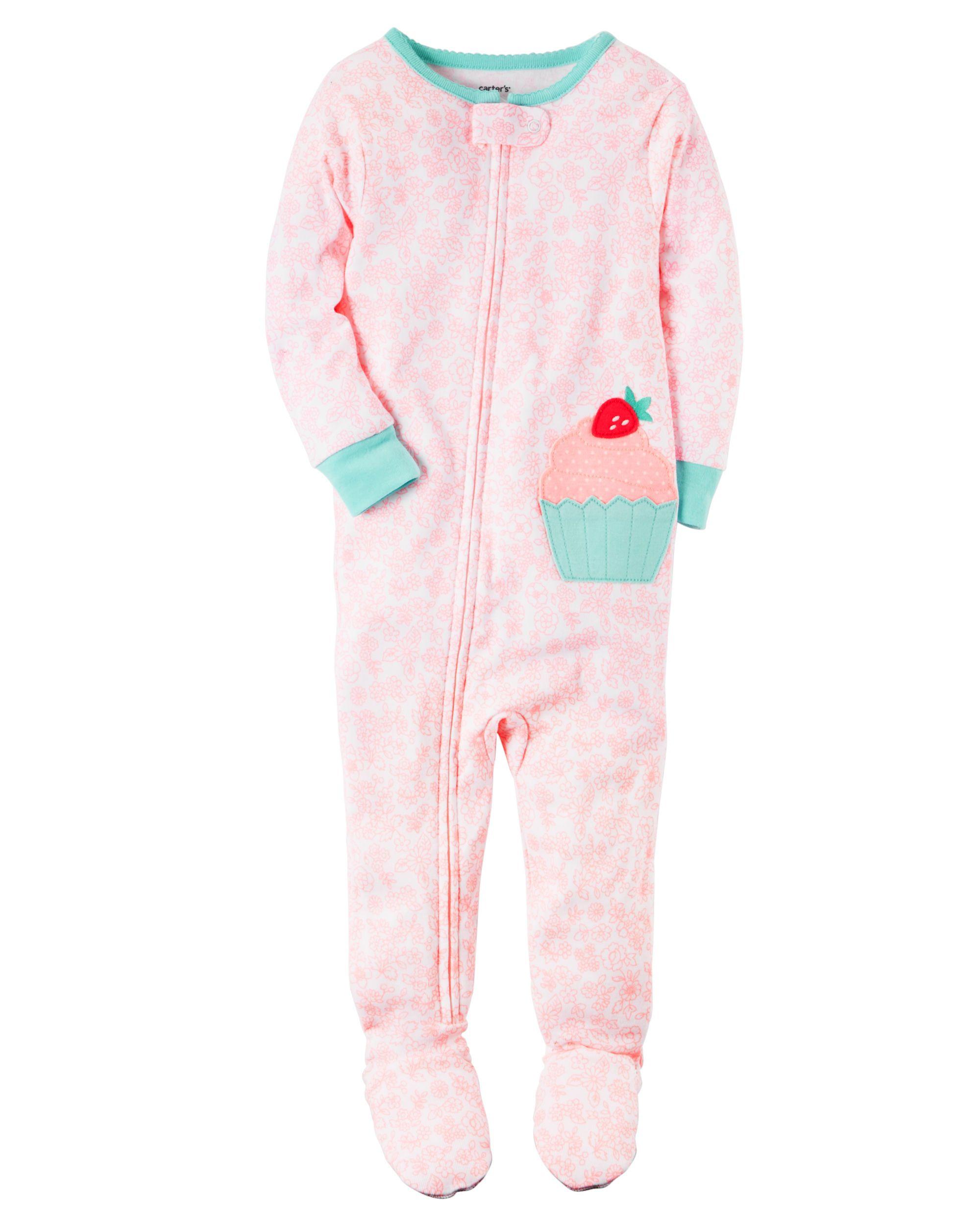 21b8b8743 1-Piece Snug Fit Cotton PJs