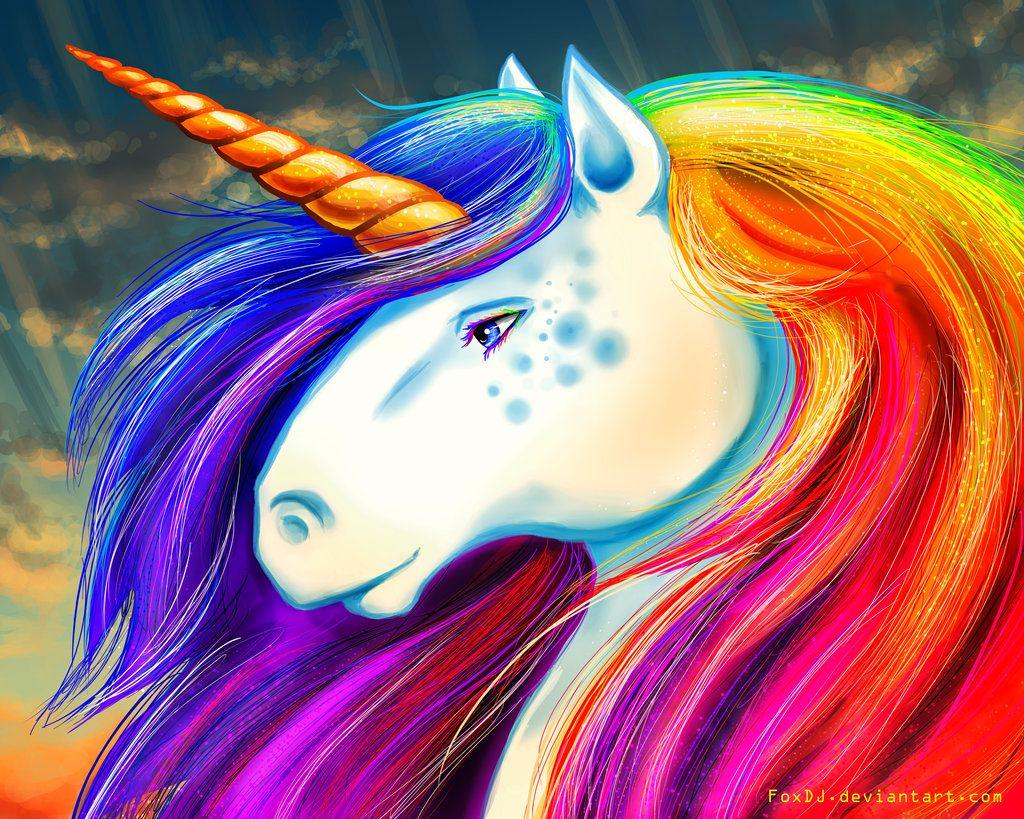 Rainbow Unicorns Page Unicorn Images Unicorn Drawing