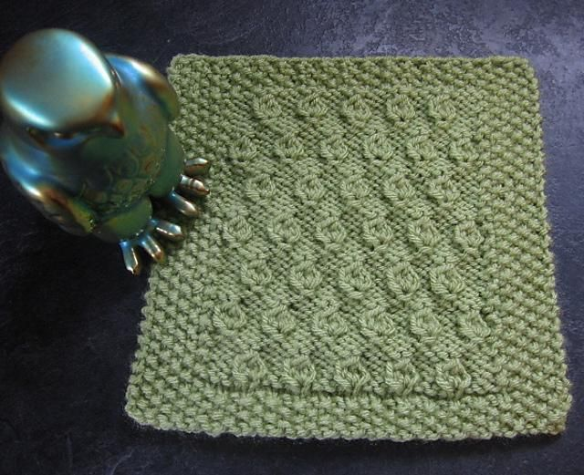 4 FREE dishcloth patterns