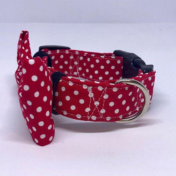 45866152bcd8 Dog Collar | Bow Tie | Dog Bandana | Dog Lead| Adjustable Fabric ...